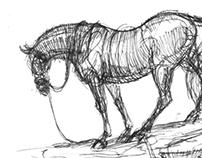 Sketchbook - Horses