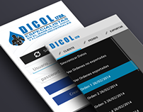 Dicol App Orders