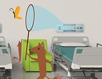 Wayfinding: Dr. Eulalino Ignácio de Andrade's Hospital