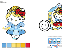 Hello Kitty Cinderella