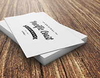 FREE Realistic Business Card PSD Mockup