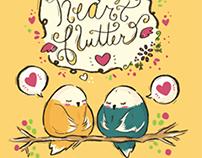 Lovebird Cards