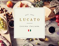 Lucato Restaurant - Identity Design