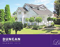 Duncan Realty booklet - Publication Design