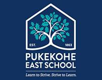 Pukekohe East School rebrand
