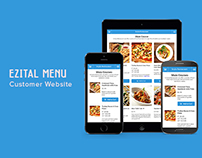 Ezital Menu - Customer Site
