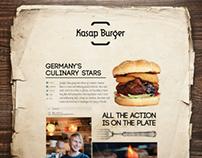 Kasap Burger, Branding