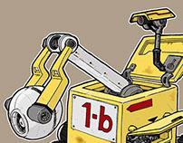 Cube Robots - Concept Art