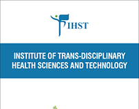 Brochure design for IHST