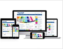 PaperlinX - RWD website