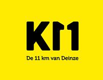 De 11 km van Deinze