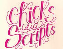 Chicks dig Scripts