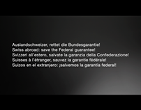 Soliswiss – Swiss abroad: save the Federal guarantee!
