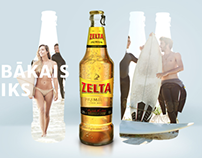 Zelta Beer website