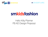 SM Kids Fashion:Hello Kitty Planner FB AD Proposal