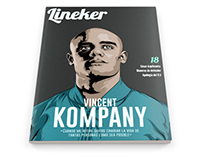 Cover Lineker Magazine #18
