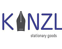 A logo concept for KANZLER stationary store in Yerevan
