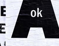 FICCIONES TYPOGRAFIKA // A OK
