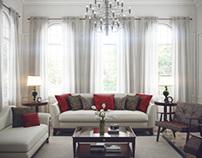 Classic Modern Living Room