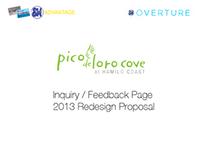 Pico de Loro Cove: Inquiry / Feedback Page Redesign
