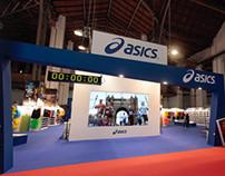 Booth design Asics | Marató de Barcelona