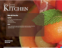 Kenyan Kitchen Website 2013