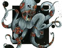 Futuristic Octopus