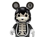 Spooki Vinylmation custom