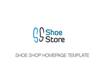 Shoe Shop Homepage Template