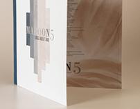 Typography | Maroon 5 LP
