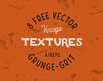 8 FREE VECTOR VINTAGE TEXTURES