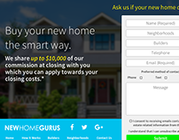 New Home Gurus Web Layout