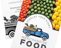 Business Card Design:Merchandise Food