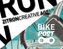 Graphic Design | Bike Post - magazine