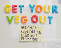 Event poster: National Vegetarian Week 2014