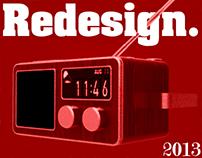 Conceptual clock radio