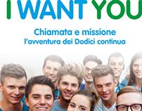 I WANT YOU - Libreria Editrice Vaticana - marzo 2013