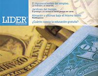 Rediseño revista Líder Empresarial