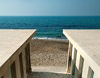 Ostia beach (Italy)