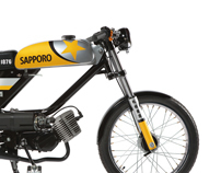 Sapporo Summer Moped