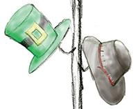 Hat illustration roughs