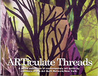 ARTiculate Threads Exhibit Postcard | Ellipse