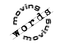 Moving Words Logo