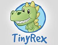 Dinosaur Mascot Vector Logo