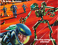Red Planet, The Pulp Cover