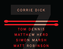 Corrie Dick (gig poster)