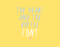 The Heart and the Bottle | Font