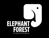 Elephant Forest Logo Campaign