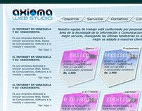 WEB SITE WWW.AXIOMAWEBSTUDIO.COM