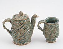 2013 - Pottery - Focus on Integrating Form & Surface